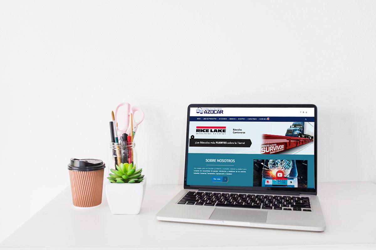 azocar diseño de paginas web responsive
