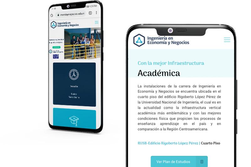 Diseño de pagina web Nicaragua